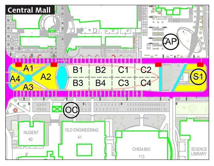 University Arizona Map.Available Space Maps